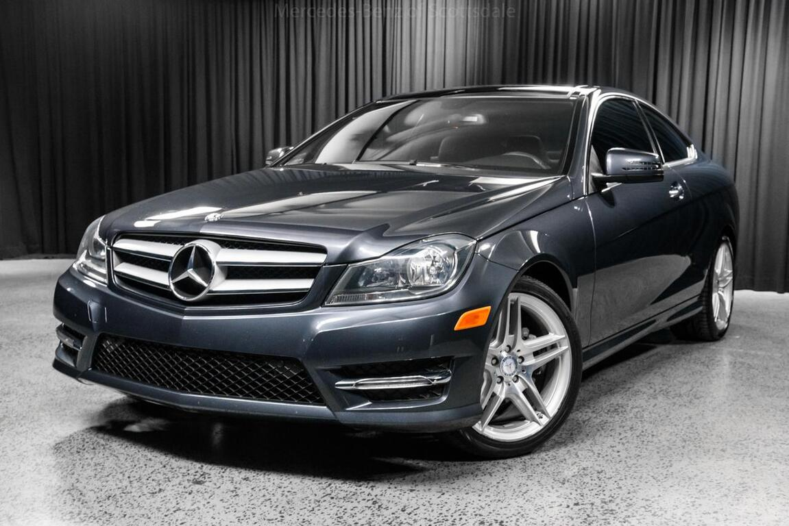 2013 mercedes benz c class c 250 coupe scottsdale az 23548293. Black Bedroom Furniture Sets. Home Design Ideas
