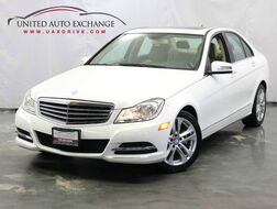 2013_Mercedes-Benz_C-Class_C 250 Luxury / 1.8L Turbocharged Engine / RWD / Sunroof / Bluetooth / Push Start / Harman Kardon Premium Sound System_ Addison IL