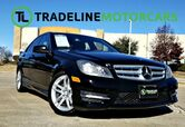 2013 Mercedes-Benz C-Class C 250 Luxury NAVIGATION, SUNROOF, HEATED/COOLED SEATS, AND MUCH MORE!!!