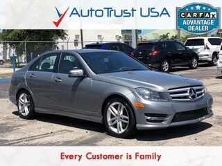 Mercedes-Benz C-Class C 250 Sport CLEAN CARFAX SUNROOF AMG STYLING PKG 2013