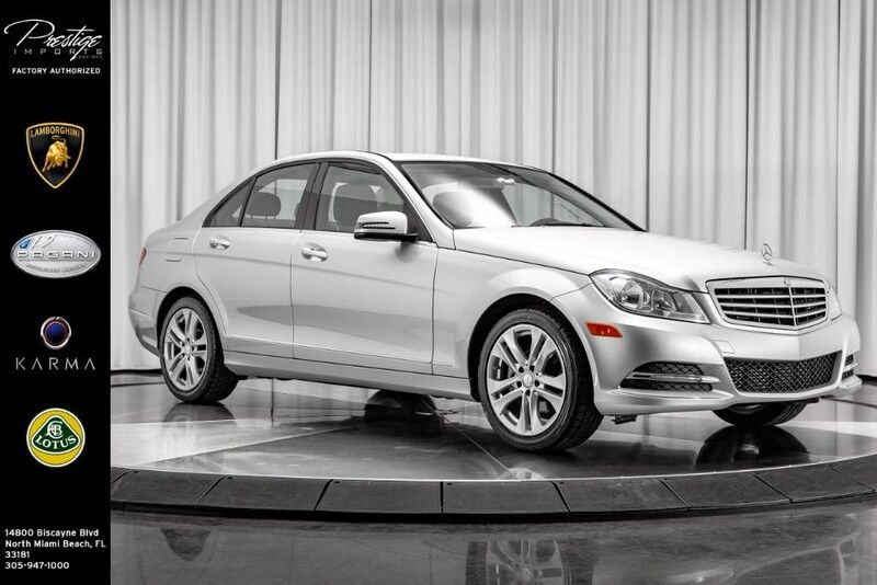 2013_Mercedes-Benz_C-Class_C 250 Sport_ North Miami Beach FL