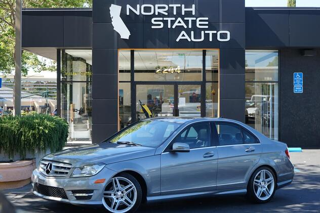 2013_Mercedes-Benz_C-Class_C 250 Sport_ Walnut Creek CA