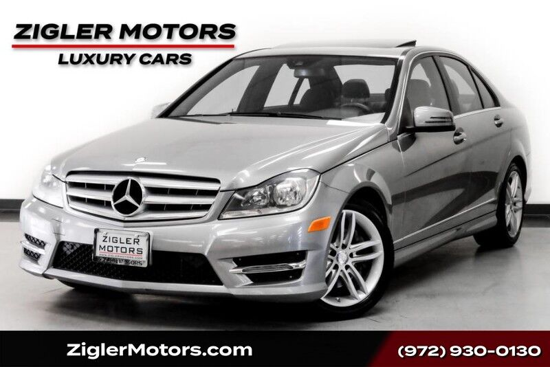 2013 Mercedes-Benz C-Class C 300 4Matic Sport Navigation Rear View Camera Driver Assist Blind Spot Clean Carfax Addison TX