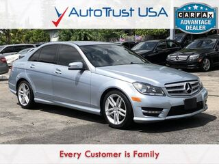 Mercedes-Benz C-Class C 300 Sport 4MATIC NAV SUNROOF LEATHER LOADED 2013