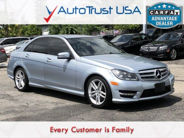 2013 Mercedes Benz C Class C 300 Sport 4MATIC NAV SUNROOF LEATHER LOADED  Miami