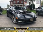 2013 Mercedes-Benz C-Class C 350-$79Wk-AWD-Navi-Backup-HeatdLeathrSts-Alloys-Panoroof