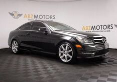 2013_Mercedes-Benz_C-Class_C 350 Heated Seats,Panoramic,Blind Spot,Camera_ Houston TX