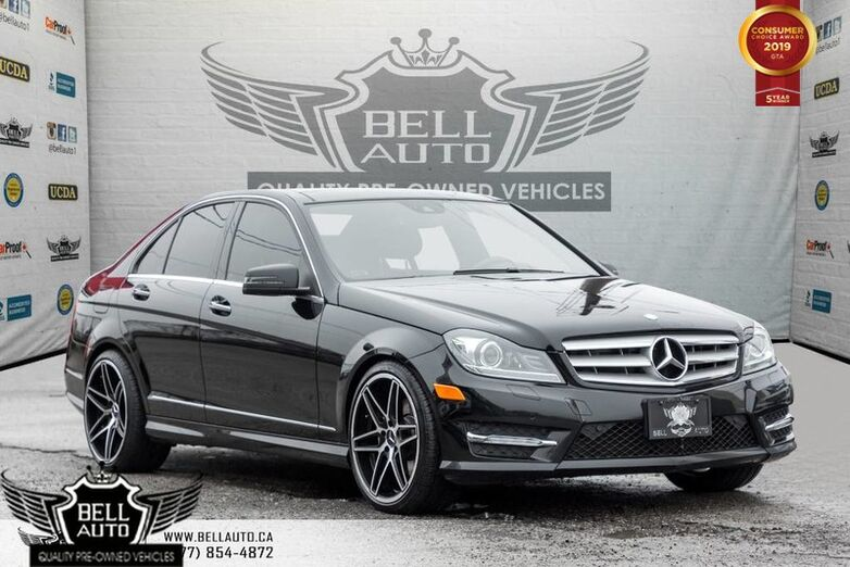 2013 Mercedes-Benz C-Class C 350, NAVI, BACK-UP CAM, LANE + ATTENTION ASSIST Toronto ON