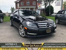 2013_Mercedes-Benz_C-Class_C 350|$79Wk|AWD|Navi|Backup|HtdLthrSts|Alloys|Panoroof_ London ON