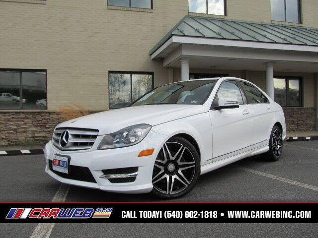2013 Mercedes-Benz C-Class C300 4MATIC Sport Sedan Fredricksburg VA