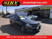 2013_Mercedes-Benz_C-Class Coupe_C 250_ San Diego CA