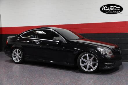 2013_Mercedes-Benz_C350_AMG Sport 4-Matic 2dr Coupe_ Chicago IL
