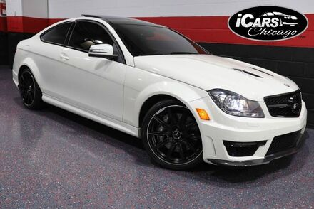 2013_Mercedes-Benz_C63 AMG_2dr Coupe_ Chicago IL