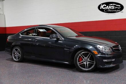2013_Mercedes-Benz_C63 AMG_Performance Package 2dr Coupe_ Chicago IL