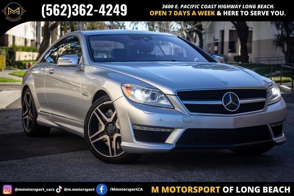 2013_Mercedes-Benz_CL-Class_CL 63 AMG Coupe 2D_ Long Beach CA
