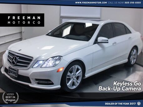 2013_Mercedes-Benz_E 350_Sport Nav Backup Camera Heated Seats_ Portland OR