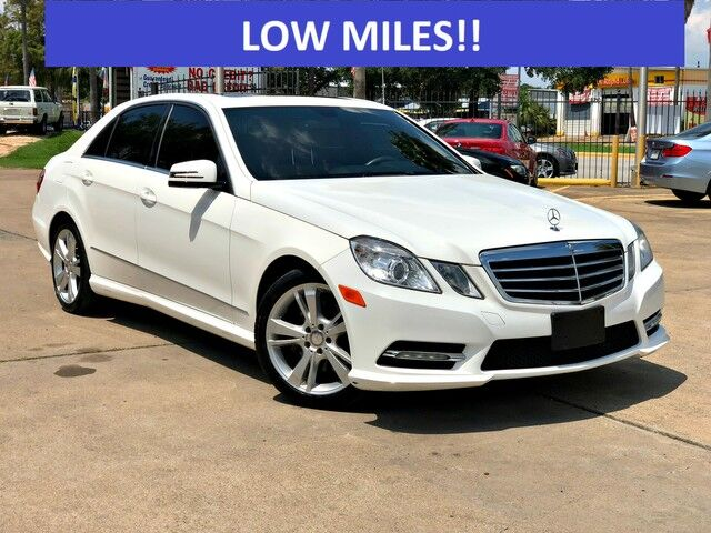 2013_Mercedes-Benz_E-Class_E 350 Luxury_ Houston TX