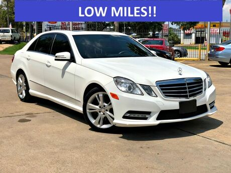 2013 Mercedes-Benz E-Class E 350 Luxury Houston TX