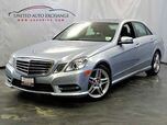 2013 Mercedes-Benz E-Class E 350 Sport / 3.5L V6 Engine / 4Matic AWD / Navigation / Bluetooth / Sunroof / Rear View Camera / Harman Kardon Premium Sound System / Premium Package / Sport Package / Wheel Package