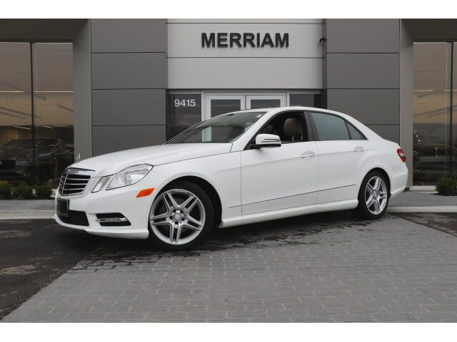 2013 Mercedes-Benz E-Class E 350 Sport 4MATIC® Merriam KS