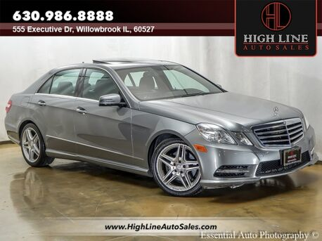 2013_Mercedes-Benz_E-Class_E 350 Sport_ Willowbrook IL