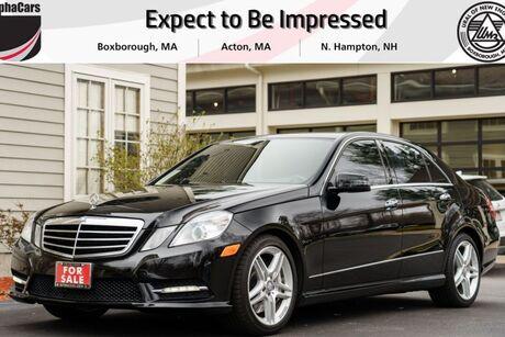 2013 Mercedes-Benz E550 4Matic AMG Sport Boxborough MA