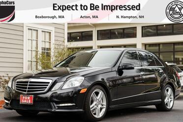 2013_Mercedes-Benz_E550_4Matic AMG Sport_ Boxborough MA