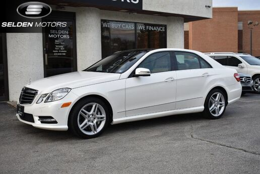 2013 Mercedes-Benz E550 4Matic Conshohocken PA