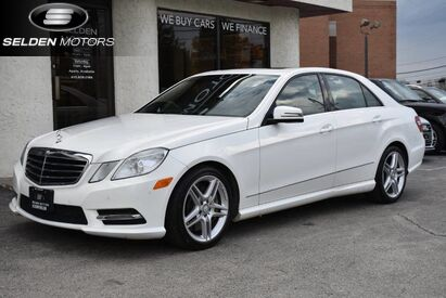 2013 Mercedes-Benz E550 Sport 4Matic