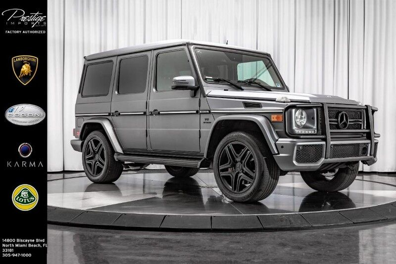 2013_Mercedes-Benz_G-Class_G 63 AMG_ North Miami FL