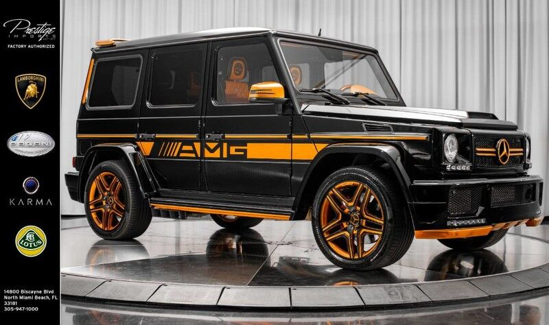 2013_Mercedes-Benz_G-Class_G 63 AMG Wide-body_ North Miami Beach FL