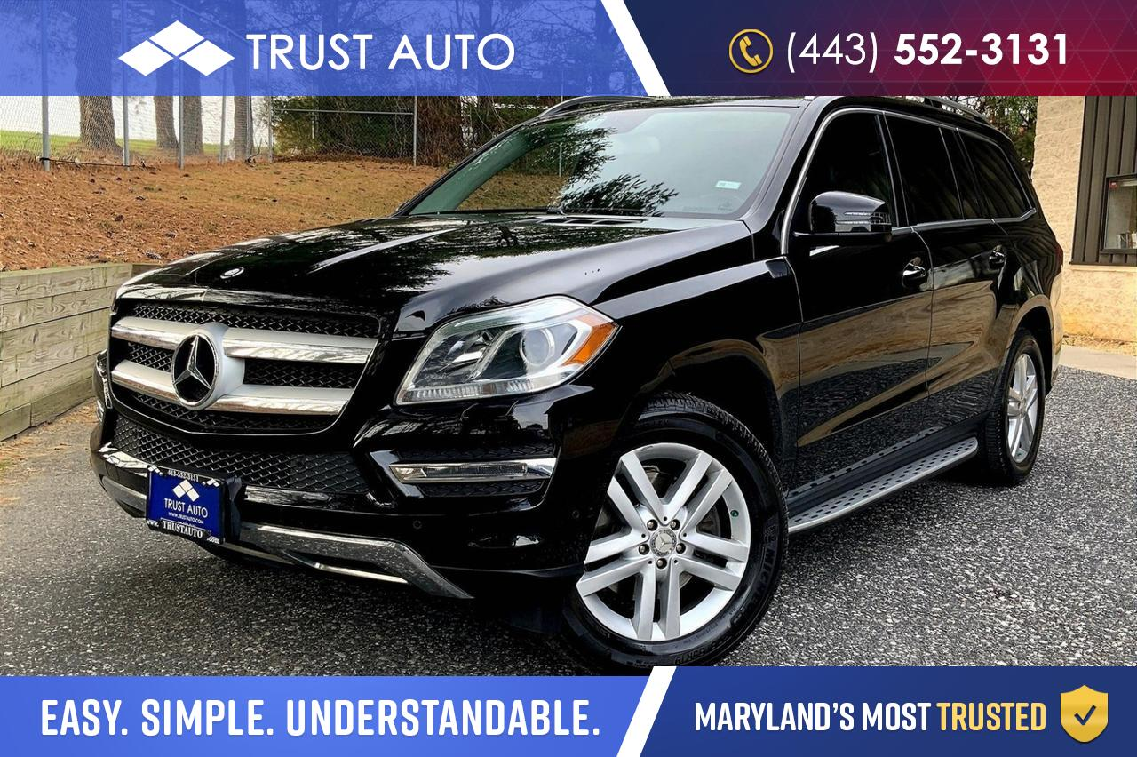 2013 Mercedes-Benz GL-Class 350 BlueTEC Turbo Diesel AWD 7-Passenger Luxury SUV Sykesville MD