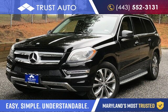 2013 Mercedes-Benz GL-Class GL 450 4MATIC AWD 7-Passenger Luxury SUV Sykesville MD