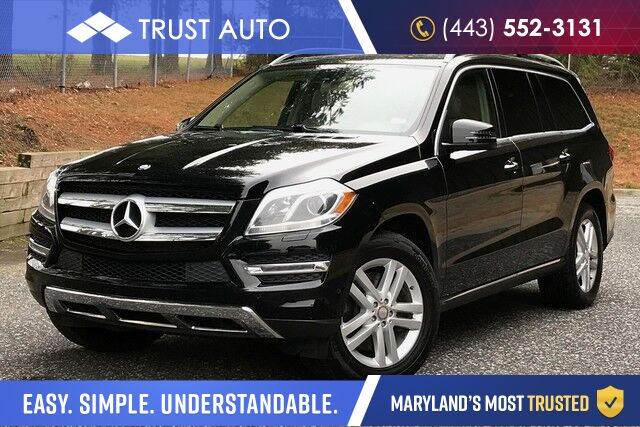 2013 Mercedes-Benz GL-Class GL 450 AWD 7-Passenger Luxury SUV Sykesville MD