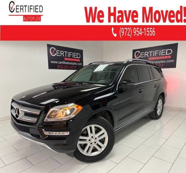 2013 Mercedes-Benz GL450 4MATIC PREMIUM PKG PARKTRONIC DISTRONIC BLIND SPOT ASSIST NAVIGATION SUNROO Dallas TX