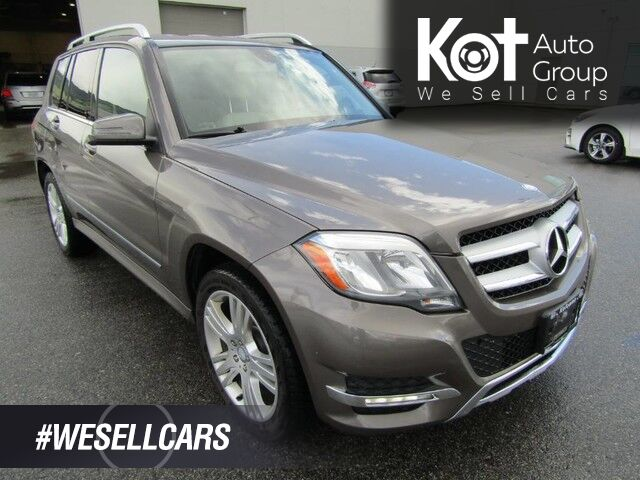 2013 Mercedes-Benz GLK 250 BLUE-TEC! DUAL TURBO DIESEL! RARE UNIT! LEATHER! 1 OWNER! NO ACCIDENTS! Kelowna BC