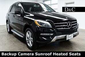 2013_Mercedes-Benz_M-Class_ML 350 4MATIC Backup Camera Sunroof Heated Seats_ Portland OR
