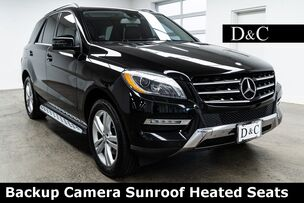 2013 Mercedes-Benz M-Class ML 350 4MATIC Backup Camera Sunroof Heated Seats