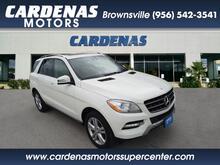 2013_Mercedes-Benz_M-Class_ML 350 4MATIC_ Brownsville TX