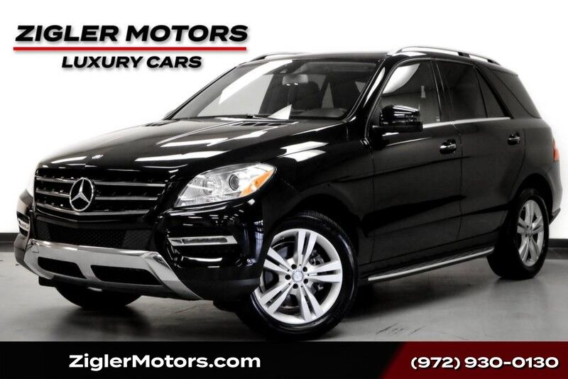 2013 Mercedes-Benz M-Class ML 350 BlueTEC 4Matic Driver Assist Glass Roof Keyless-Go Addison TX