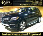2013 Mercedes-Benz M-Class ML 350 BlueTEC AWD, FULLY LOADED