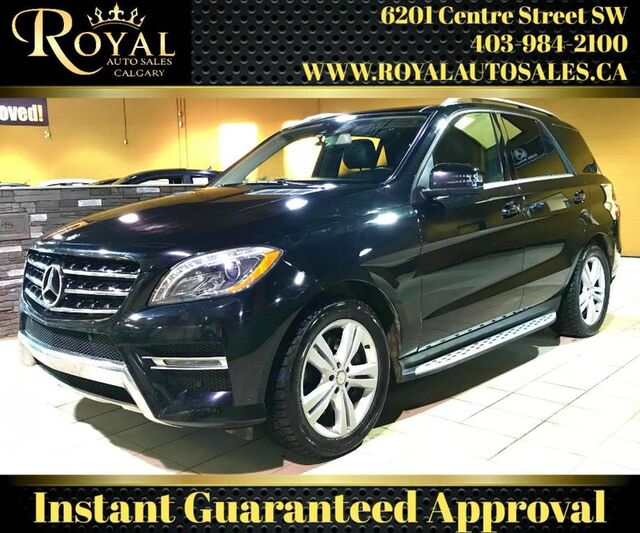 2013_Mercedes-Benz_M-Class_ML 350 BlueTEC AWD, FULLY LOADED_ Calgary AB