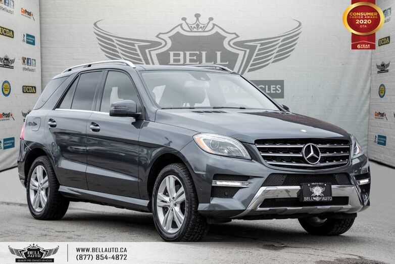 2013 Mercedes-Benz M-Class ML 350 BlueTEC, AWD, NAVI, REAR CAM, B.SPOT, COLLISION PREV Toronto ON