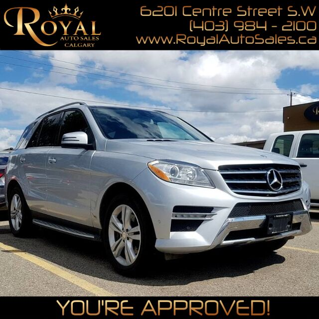 2013 Mercedes-Benz M-Class ML 350 BlueTEC Calgary AB