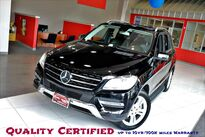 Mercedes-Benz M-Class ML 350 P01 Package Lane Tracking Package Running Boards Harmon Kardon Sunroof Navigation Backup Camera 2013