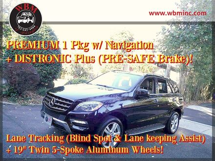 2013_Mercedes-Benz_ML 350_4MATIC_ Arlington VA