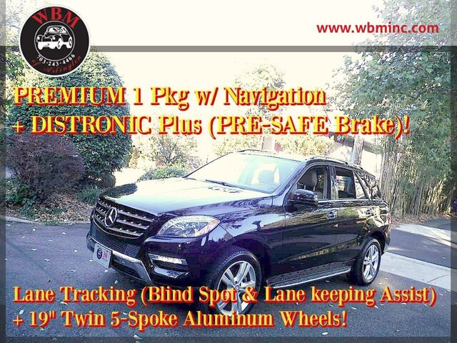 2013 Mercedes-Benz ML 350 4MATIC Arlington VA
