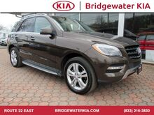 2013_Mercedes-Benz_ML 350_4MATIC, Premium Package, Lighting Package, Lane Tracking Package, Navigation System, Rear-View Camera, Bluetooth Technology, Heated Leather Seats, Power Sunroof, 19-Inch Alloy Wheels,_ Bridgewater NJ