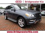 2013 Mercedes-Benz ML 350 4MATIC, Premium Package, Navigation, Rear-View Camera, Blind Spot Assist, Heated Leather Seats, Power Sunroof, 19-Inch Alloy Wheels,