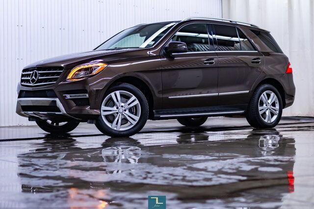 2013 Mercedes-Benz ML350 4Matic BlueTec Diesel Leather Roof Nav Red Deer AB